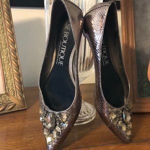 Se Boutique by Sam Edelman jeweled shoes